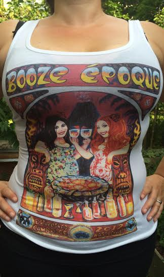Booze Époque ladies' T